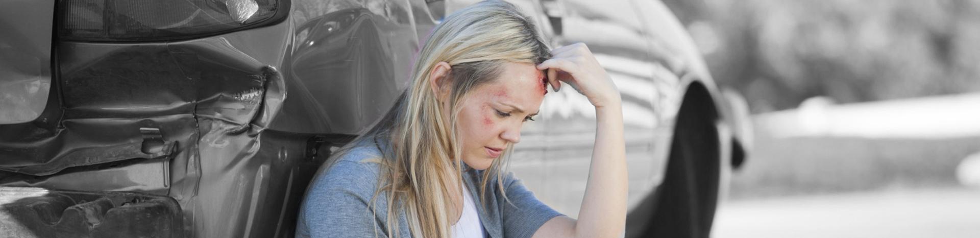 Nekklachten na auto ongeluk