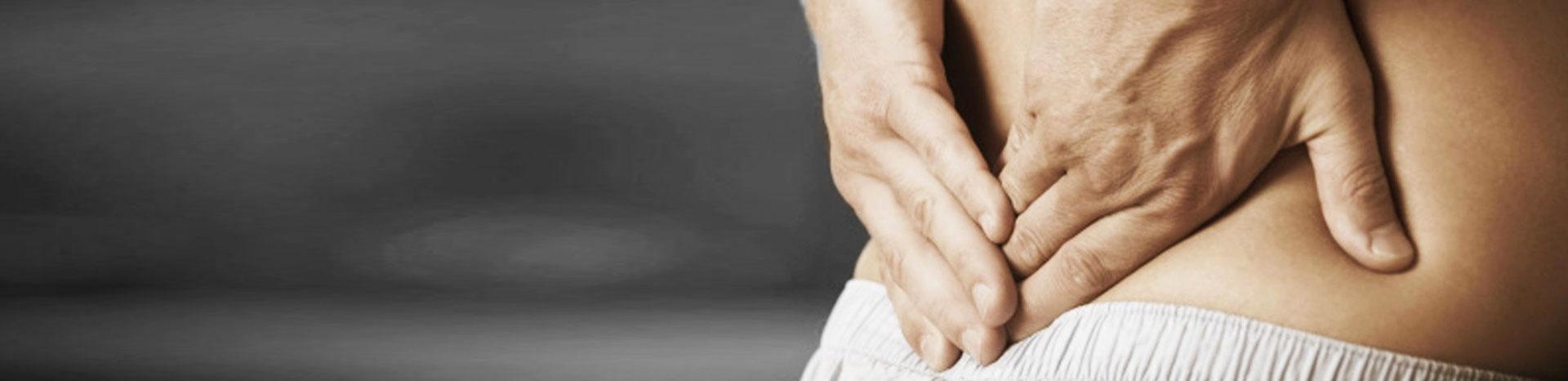 Rugpijn na auto ongeluk