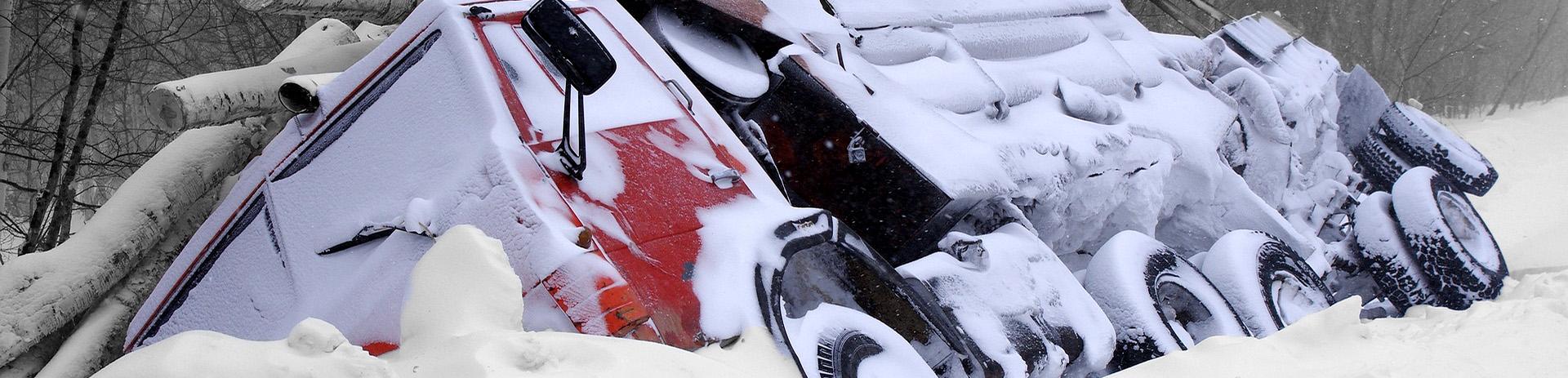 Letselschadevergoeding bij een ongeval door sneeuw of ijs | Letselschadebureau LetselPro